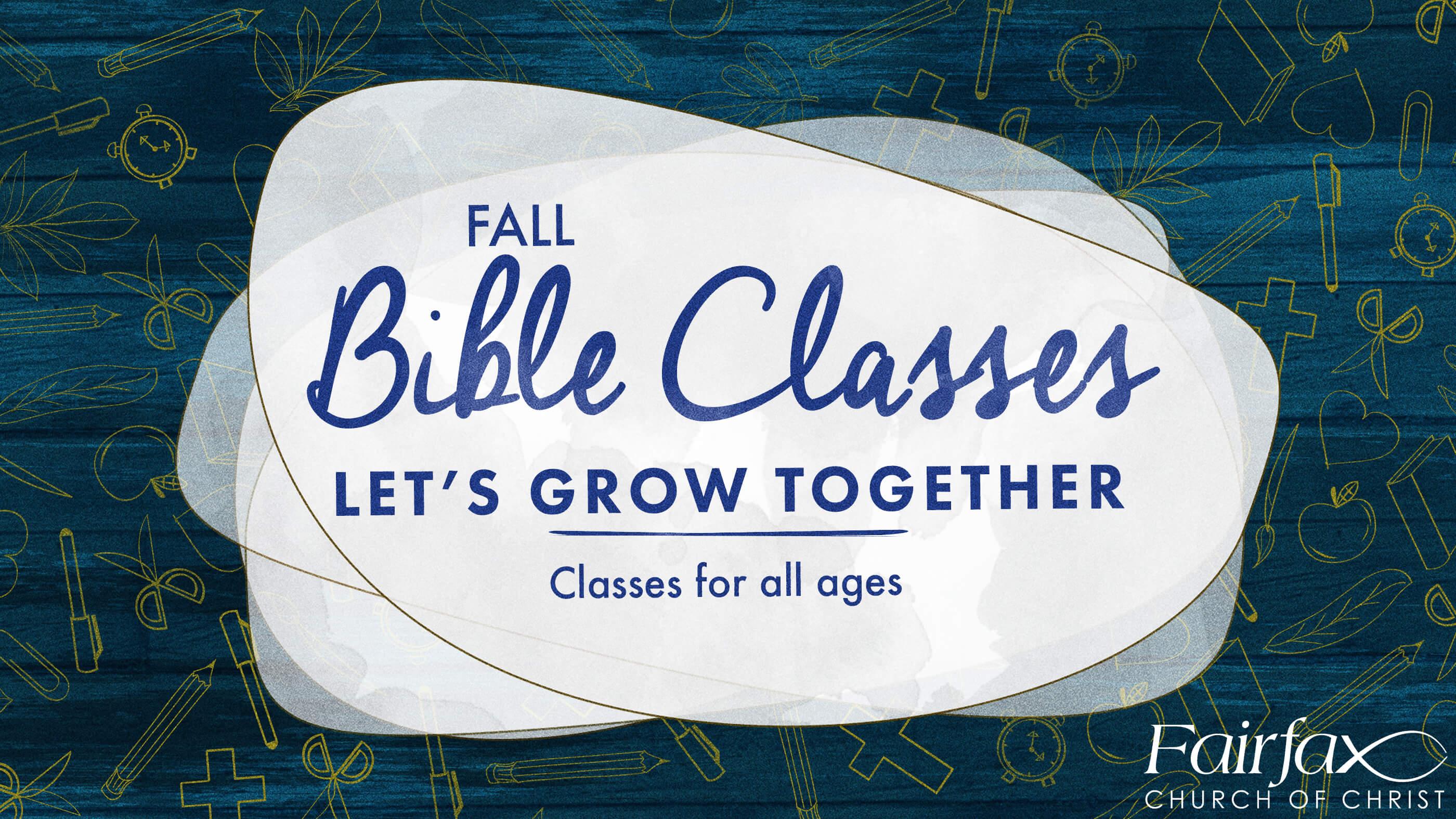 fall bible blue title